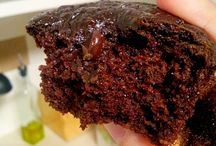 No flour no oil no refined sugar chocolate muffin