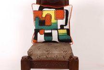 Summer Fresh Home | Handpainted Cushion Covers / View and Buy handpainted Cushion covers are beautifully dyed using Shibori and Tie-dye at tjori.com.