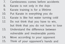 Karate - Philosophy