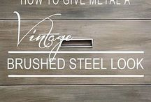 Ideas / Things you can do with Steel or Metal.