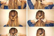 Hair / You can do a lot of nice things with your hair! Create your own style!