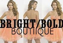Bright & Bold Boutique  / Shop our bright and bold colored dresses today: http://www.missesdressy.com/boutique/bright-bold