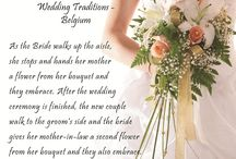 Wedding Traditions around the World / Wondered what other societies do during weddings? Or just curious to find out what those generational traditions are? This is what we showcase here... Happy Reading! :)