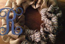 door wreaths / by Judy White