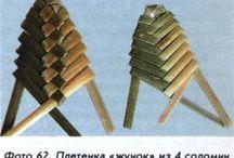 Плетение из соломки и бересты