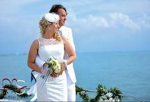 Yacht Weddings / Weddings held on the Fiesta Forever. Picturesque, romantic and intimate.