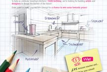 Competition: kitchen of the future / Inspiration for the Kitchen Of The Future design competition for schools! Find out more here: http://www.stoneham-kitchens.co.uk/news/kitchen-of-the-future