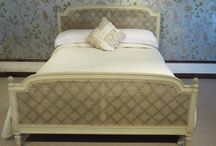 Antique Caned Beds