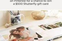 Shutterfly Pin it to Win It / by Bride-to-be B