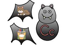 Bats / Lesson and activities about bats for prek, kindergarten, first grade, and second grade.