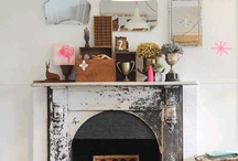 Interiors | Mantle / Ideas for accessorising a mantlepiece