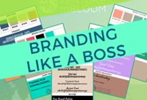 Branding Like A Boss / Tips, tools, resources, and actionable advice for how to create a stand-out brand that resonates with your audience and allows you to make a living out of your passion. Build your brand, watch it flourish, and share your impact globally.