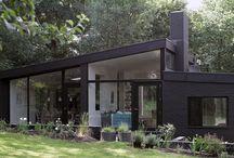 Utvendig fasade/hage
