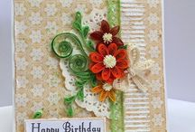 Quilled cards designs / Handmade greeting cards