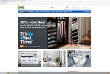 Onderzoek IKEA + Concurrenten. / Onderzoek voor school.