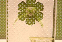 Cards - St Patrick's Day / Ideas for handmade St. Patrick's Day cards.