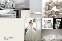 Pantone colours / Mood and inspiration boards based on pantone colours.
