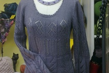 Knit & crochet / Lavoro a maglia e all'uncinetto: idee, pattern, filati, tecniche / by Chiara