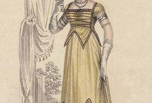 Regency dress and details