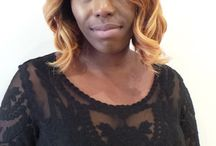 Khairmax Salon Clients / Many of the fabulous hair creations done at our North London Salon