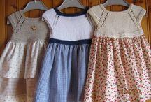 платья комби