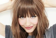 Front fringe hairstyles
