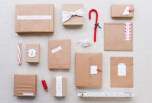 Gift wrapping ideas / Gift wrapping ideas using stamps, string and craft inspiration / by Papermash