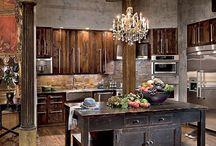 Celebrity Kitchens / Beautiful Celebrity Kitchens