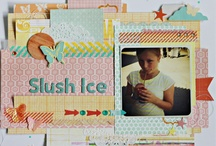 My scrapbook layouts and minialbums