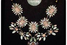 Accesorios Narcisa / Collares, aros, pulseras, accesorios para el pelo, anillos