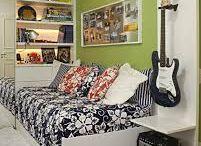 Teenage Boy's Room / by Chrissi Millner