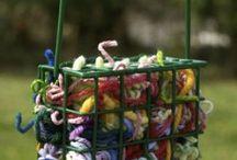 Nesting materials for birds