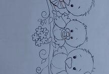 bebek işi çizim