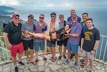 Steven Cox Instagram Photos @mia_tidwell enjoying her time in #Capri  #friends #travel #miatidwell