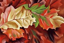Georgia o'keefe leaves