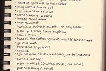 Things to do when bored.