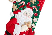 Santa con genguible bota