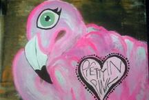 Flamingos / by Erica Kelinske