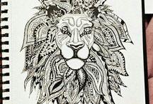 lev kresba