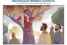 Zacchaeus Bible Activities / Zacchaeus was a hated tax collector when he met Jesus. His encounter with Jesus changed everything about his life. These Bible activities for children will help kids learn about this encounter in Jesus' life.