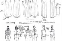 Medieval women's clothes
