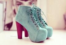 autumn high heels thick bottom boots