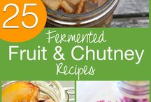 FERMENTED FRUIT AND CHUTNEYS