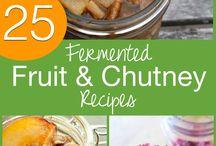 FERMENTED FRUIT AND CHUTNEYS
