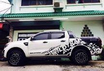 Ford Ranger polep