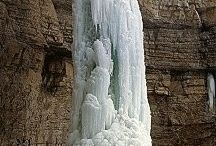 Ice Waterfall Climbing