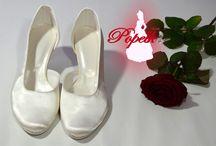 Svatební boty v barvě IVORY, slonová kost, máslová, bílá, / Svatební boty v barvě IVORY, ŠAMPAŇ, slonová kost, máslová, bílá, krémová a jejich kombinace.  Svadobné topánky vo farbe Ivory, slonová kosť, máslová, biel, krémová a ich kombinácie...