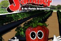 Jammer / Jammer is the new mascot of the Florida Strawberry Growers Association. To request a copy visit our website http://flastrawberry.com.  #‎FLStrawberry‬