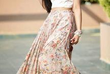 Faldas y Vestidos Largos