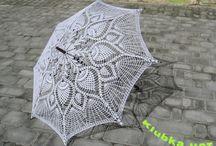Узоры на зонтах